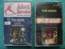 THE KINKS LIVE AT KELVIN HALL / SPOTLIGHT (2) Factory Sealed Cassette Import NR