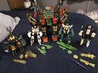 Transformers Energon Terrorcons Scorponok Divebomb Cruellock Insecticon Ravage