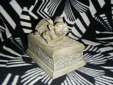 Gargoyle Trinket Jewelry Keepsake Box Vintage Vandor 1995
