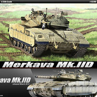 1/35 Merkava Mk.IID 105mm Main Gun Flexible tracks Academy Model Kit #13286