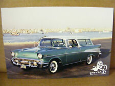 1957 CHEVROLET NOMAD HERITAGE ONE HUNDRED YEARS POSTCARD NEW