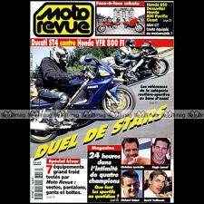 MOTO REVUE N°3356 DUCATI 916 ST4 HONDA PC 800 PACIFIC COAST RICHARD SAINCT 1998