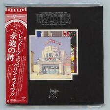 "LED ZEPPELIN ""THE SONG REMAINS THE SAME"" Japan Rare OOP Gatefold Mini-LP 2-CD"