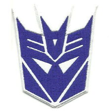 Transformers Decepticon Appliques Embroidered Iron on Cartoon Patch
