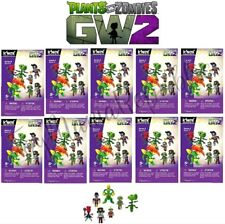 LOT OF 10 - Knex Plants Vs Zombies Series 4 - Mystery Buildable Figures - NEW