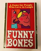 Vintage FUNNY BONES Card Game Complete All 23 Cards.  Retro Card Game