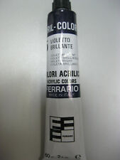 Ferrario Artist Quality Acrylic CRIL COLOR Bright Violet  #15 -60ml paint -Italy