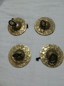 Belly Dance Cymbals Total Of 4 Pieces