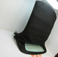 05 SAAB 9-3 CONVERTIBLE TOP ROOF FRAME REAR GLASS WINDOW BACK CAR COVER BLACK OE