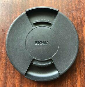 Sigma Front Lens Cap LCF-72III for 72mm Lenses Black Center Pinch Design