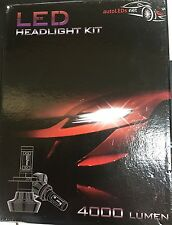 H11 LED HEADLIGHT KIT  NEW 8000 LUMEN NO FAN 6000 kelvin WHITE
