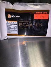4:1:1 PINEAPPLE BCAA Powder L-VALINE L-LEUCINE L-ISOLEUCINE - Pure Amino Acids