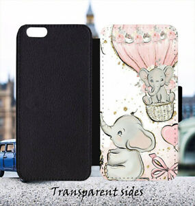 Pinky Dumbo with Gift Leather Flip Wallet Phone Case Cover
