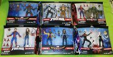 Marvel legends 2 pack lot spiderman mary jane miles morale spider gwen kraven +