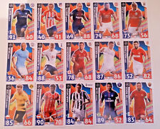 MATCH ATTAX CHAMPIONS LEAGUE 2017/18 CLUB HEROES NEW SIGNINGS AND GAME CHANGERS