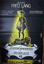 Affiche CONTREBANDIERS MOONFLEET (Fritz Lang / Stewart Granger) 120x80 cm