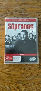 The Sopranos The Complete Second 2 DVD Brand New Sealed Region 4 FREE POST