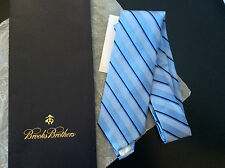 NEW authentic Brooks Brothers Pure Silk Tie BNWT in tie gift bag rrp$99