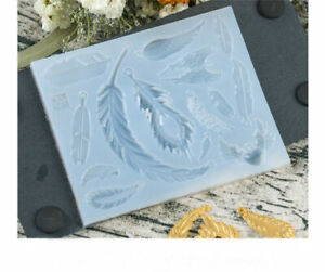 Silicone Feather Wing Pendant Mold Necklace Jewelry Resin Mould Casting Mold