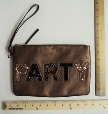 Women's Juicy Couture PARTY Wristlet Clutch Purse Hand Bag Tote