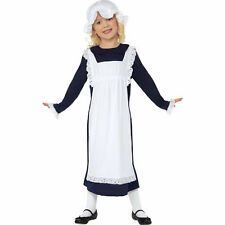 Smiffy's Victorian Poor Girl Dress - Child Medium