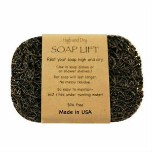 BROWN SOAP LIFT SOAP DISH, THE BEST WAY TO KEEP YOUR SOAP FREE OF MUCK   - NEW