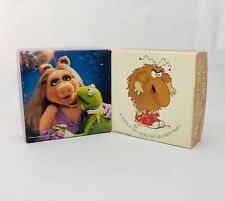 Vintage Mini Jigsaw Puzzle Springbok Hallmark Lurky and Kermit & Miss Piggy