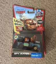 Disney Pixar Cars Lights & Sound Talking Spy Mater 3 2 1 Diecast * Envoi Gratuit *