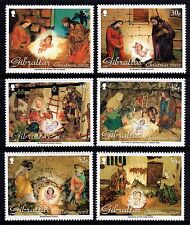 Gibraltar 2002 Christmas Complete Set SG 1020 - 1023 Unmounted Mint