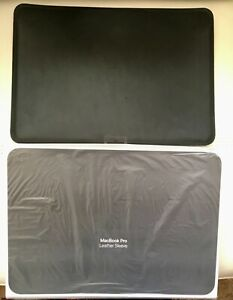 Apple Leather Sleeve for 15 inch MacBook Pro Black MTEJ2ZM/A