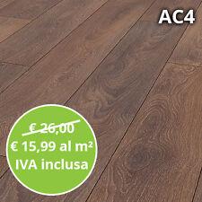 Pavimento in Laminato Rovere Shire Confezione Da 2.22mq   8 mm AC4