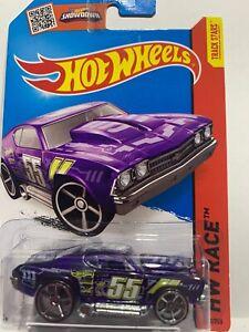 2015 Hot Wheels Car 140/250 '69 Chevelle Purple