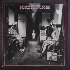 KICK AXE: Welcome To The Club LP (inner sleeve, small toc, corner ding, promo s