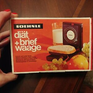 Soehnle Postage Scale, accurate to 250 gm vintage new in box GERMANY