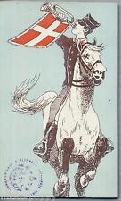 Comando Cavallegeri Trombettiere a Cavallo PC Circa 1904