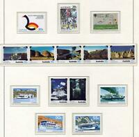 40083) AUSTRALIA 1979 MNH** Complete year sets 31v