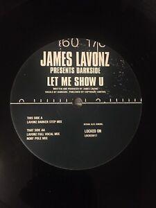 "JAMES LAVONZ - Let Me Show U - 12"" Vinyl Single Locked On 2000 LOCKED017 VG"