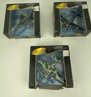 Vintage  Lot of 3 Maisto Air Force Special Edition Die Cast Aircraft 1997