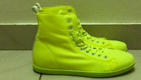 Lime green womens and girls casual fashion shoes new style