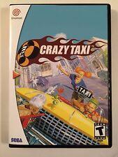 Crazy Taxi - Sega Dreamcast - Replacement Case - No Game