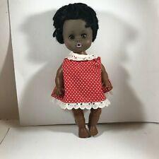 """Vintage 11"""" African American EEGEE Doll"""