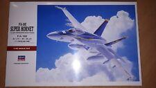 HASEGAWA 1:48 F/A-18E SUPER HORNET, U.S. NAVY CARRIER-BORNE FIGHTER/ATTACKER