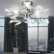 Blätter Dekor Deckenleuchte Deckenlampe Esszimmerlampe Leuchte Wohnzimmer
