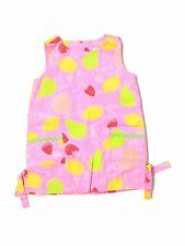 Toddler Girl Lilly Pulitzer Pink Marzipan Fruit Shift Dress Size 3T