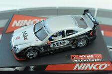 """50265 NINCO 1/32 SLOT CAR  MERCEDES CLK DTM """"MILKA"""""""