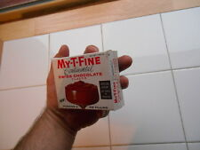 Rare Vintage 1960s MY-T-Fine My T Fine Continental Chocolate Jello Pudding Box