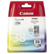 Canon CL38 Tintendruckkopf Cyan Magenta Gelb 9ml NEU