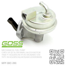 GOSS MECHANICAL FUEL PUMP CHEV V8 350 SBC [HOLDEN HQ MONARO GTS/LS & STATESMAN]