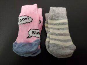 Small Dog Socks (2 sets of 4 socks)
