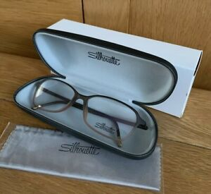 Silhouette Eyeglasses Frames SPX Illusion 1583/75 6030 54/15 Optical Glasses